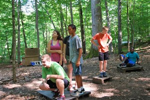 Silver Lake Low Ropes Course