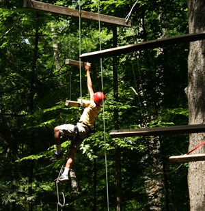 Silver Lake high ropes course